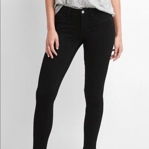 GAP 1969 Black Legging Jeans